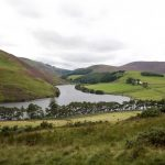 View over Glencorse Reservoir